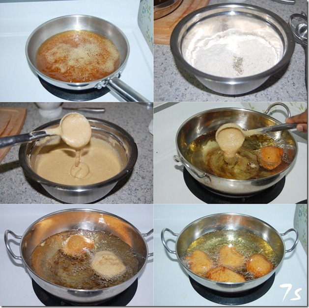 Wheat appam process