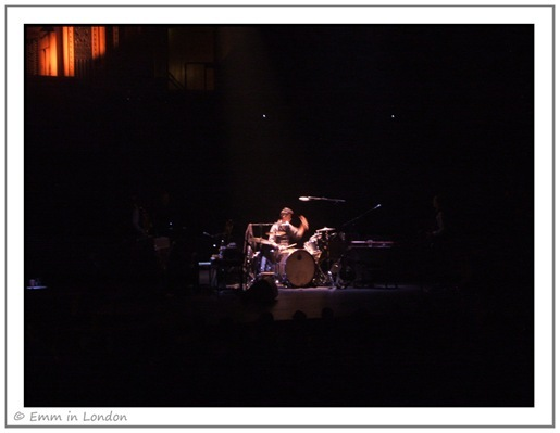 Jean-Marc Butty supporting PJ Harvey at Royal Albert Hall
