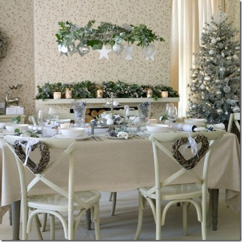 xmasdiningukhome - French Country Christmas Decor