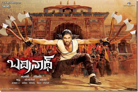Badrinath 2011 Film Poster
