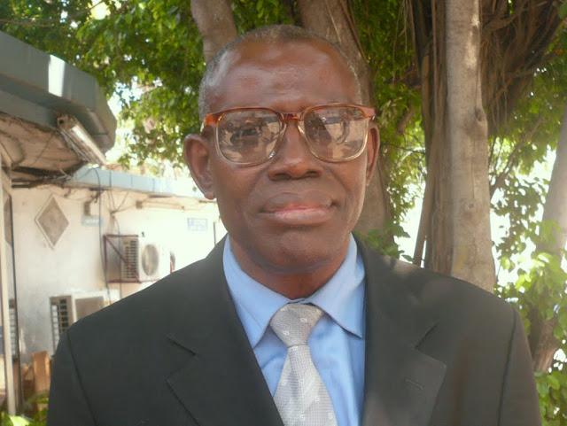 Léon Kanumbizi, coordonnateur au ministère de l'environnement (décembre 2010).