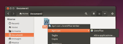 GWoffice - collegamento in Nautilus