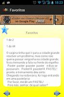 Screenshot of Piadas Brasileiras