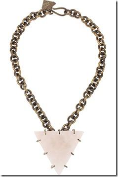 kelly wearstler  pyramid necklace