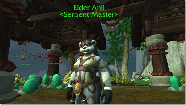 Elder Anli, the Serpent Master