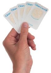 clean card