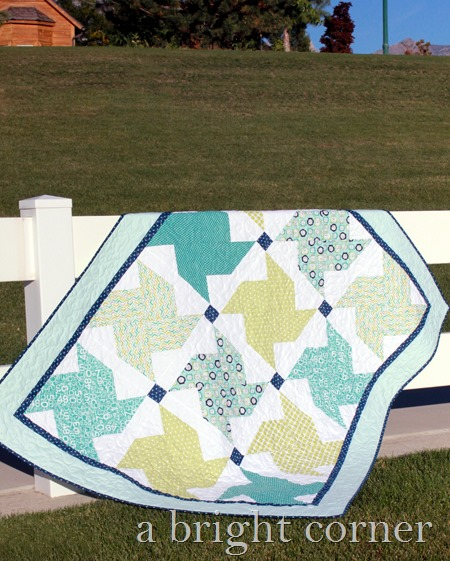 Whirled Quilt pattern from A Bright Corner