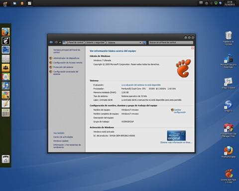Tema Linux para Windows 7