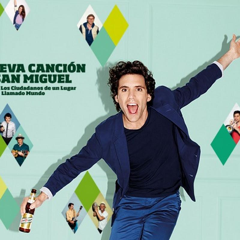 Mika el vocalista de  #LaCancióndeSanMiguel
