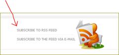 สัญลักษณ์ feed icon