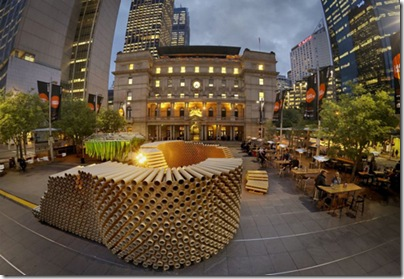 recycled-cardboard-tubes-pavilion-at-sydney-custom-house