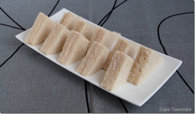 sandwich pavo manzana Espe Saavedra