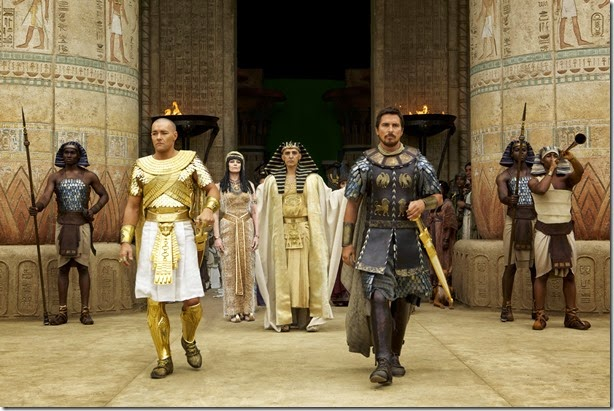 joel edgerton, sigourney weaver, john turturro, christian bale in EXODUS GODS AND KINGS