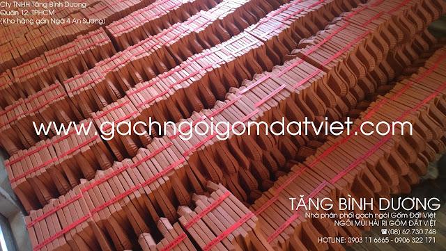 Ngói mũi hài ri Gốm Đất Việt