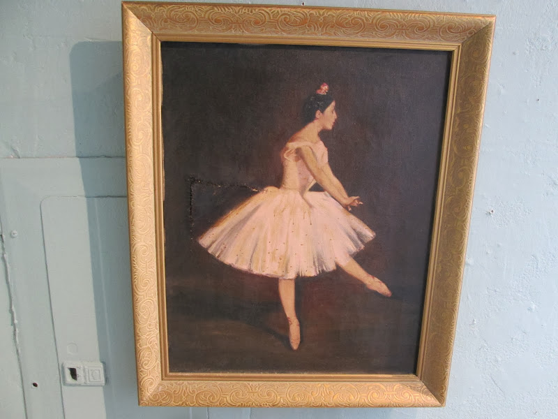 Unsigned Ballerina Painting