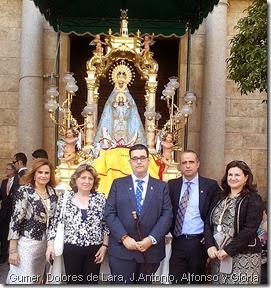 Gumer, Dolores de Lara, J.Antonio, Alfonso y Gloria