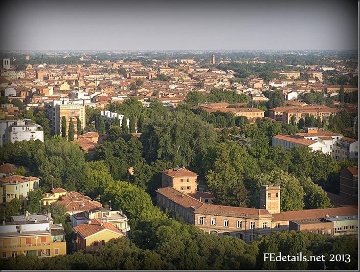 Ferrara dal Grattacielo - Ferrara from Skyscraper, Ferrara, Italy, Photo3