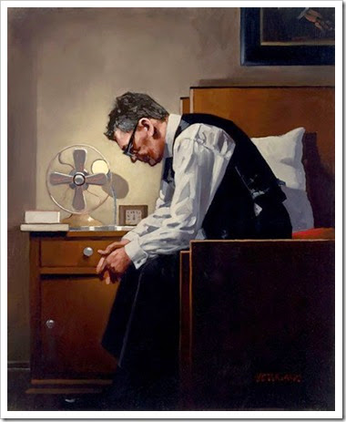 Jach Vettriano - The weight