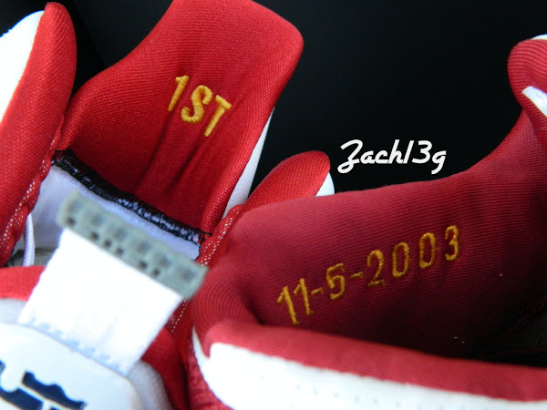 AZG 8220First Game8221 Inspired Nike LeBron 9 iD Build by Zach13g