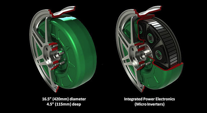 Protean electric likes wheel motors showtimes clean fuel for Protean electric motor for sale