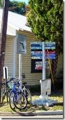 Sign in Cedar Key