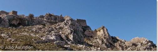 El castillo de Benissili - Vall de Gallinera