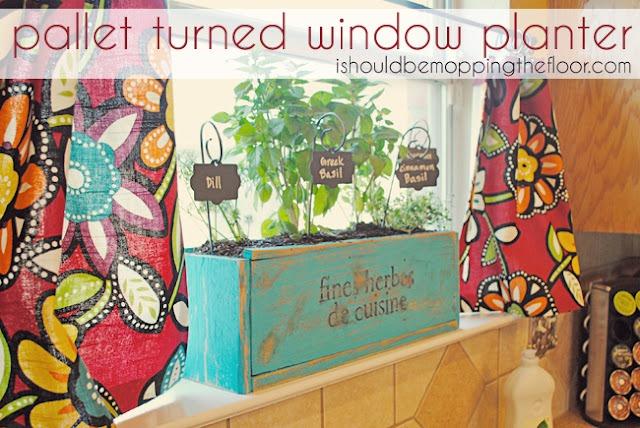 50 pallet planter