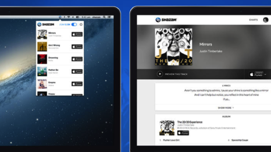 Shazam for OS X Identifies Songs Playing Around You via Lifehacker