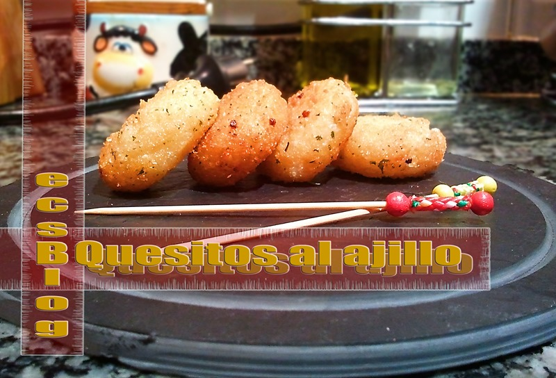 Quesitos al ajillo