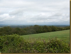 view north from Kithurst Hill