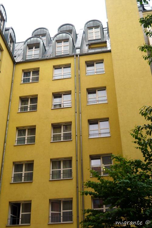 fachada interior - aldo rossi en berlin