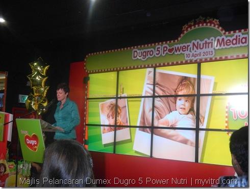 Majlis Pelancaran Dumex Dugro 5 Power Nutri 3