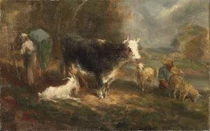 RIJKS: Eugène Fromentin-Dupeux: painting 1849