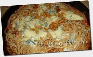 Espaguete 3  cereais com gorgonzola1