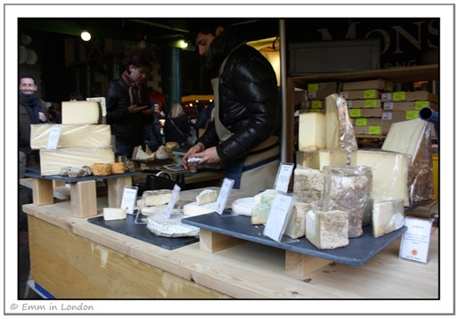 Borough Market - cheese heaven