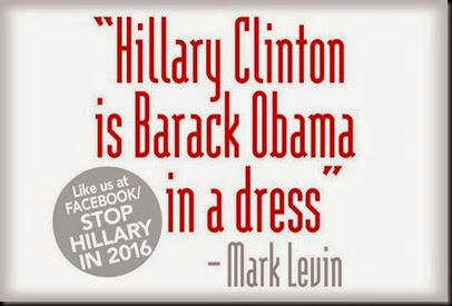 Hillary is Obama in a Dress