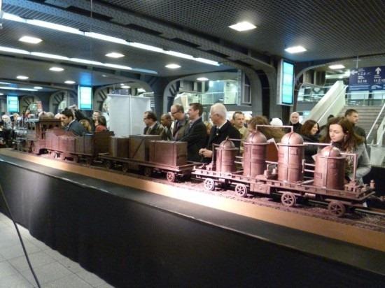Trem de chocolate Belga 05