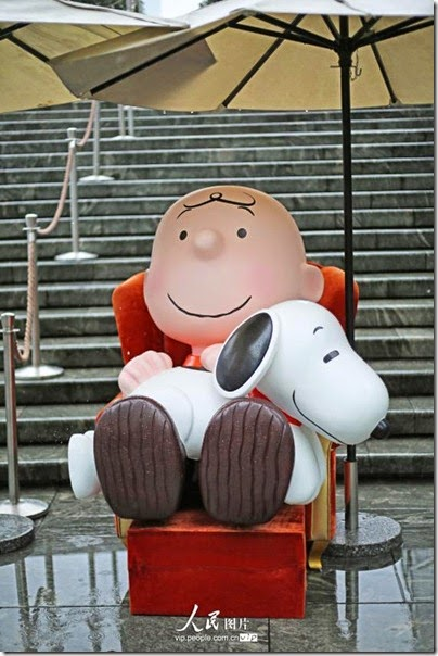 Snoopy at Pearl Square , IFC Mall, LuJiaZui, Shanghai 史努比。上海 12