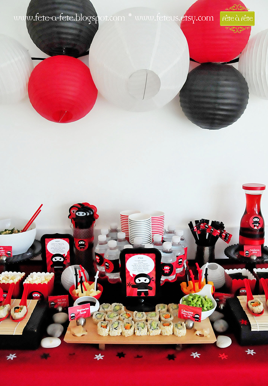 sushi-table---Ninja-Party-by-Fete-6
