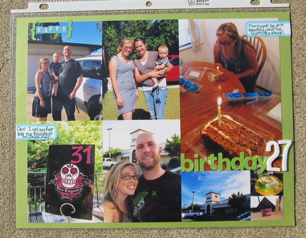 Project Life- Week 23 bd