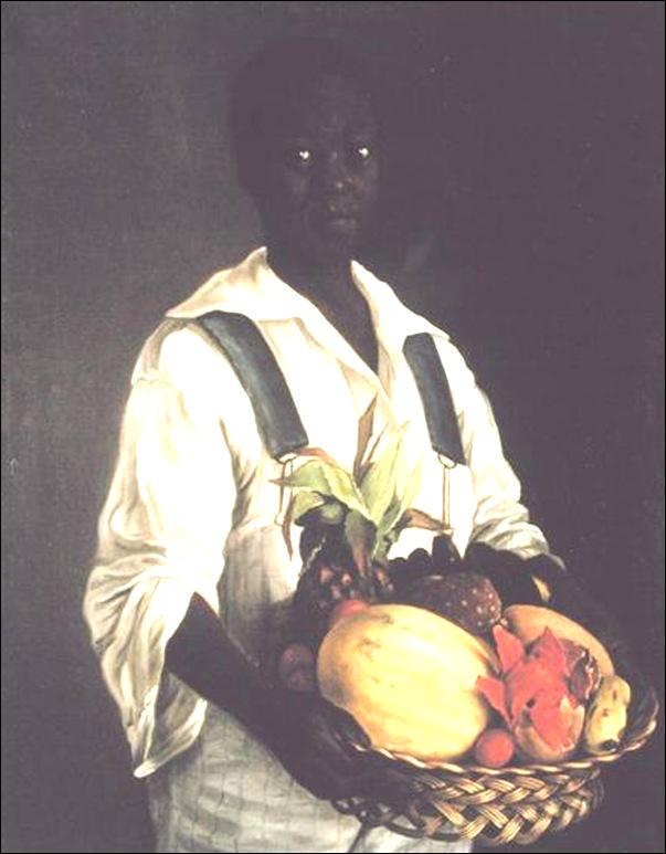 José Augustin Arrieta, jeune garçon noir