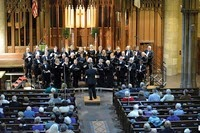 Photo 2 - Allen Artz creates music with the Crescent Choral Society in beautiful Crescent Ave Ch