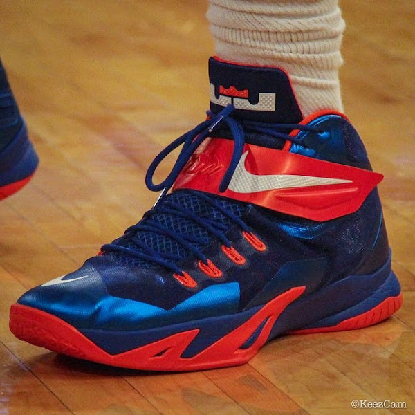 Wearing Brons Amare Stoudemire8217s Soldier 8 Knicks PEs x2