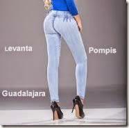 1 Pompis Arriba jeans pantalón de mezclilla de mayoreo 2016 y 2017