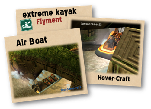 Air Boat e Hover-Craft in extreme kayak (Flyment) lassoares-rct3