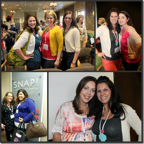 SNAP conference, bloggers, V Spot, House of Smiths, Tatertots and Jello, Mod Podge Rocks, Decor Chick, Not Just A Housewife, Centsational Girl, Kate Riley