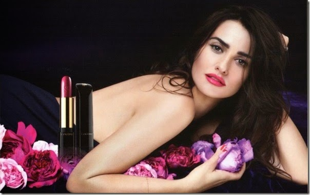 l'absolue rouge lancome penelope cruz