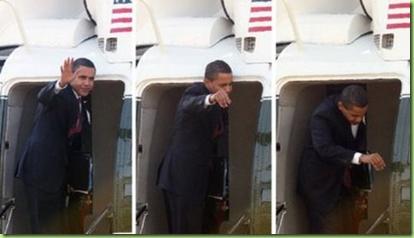 obama headbump
