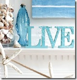Sail Away Summer Mantel