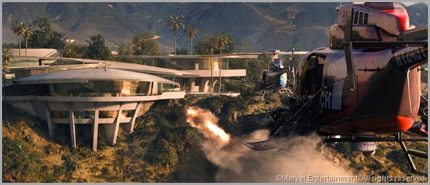 Extremis-boosted henchmen make mincemeat out of Tony Stark's Malibu mansion. CLICK to visit the official IRON MAN 3 sit.
